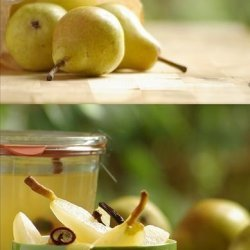 Pears in Spiced White Wine recipe