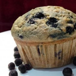 Skinny Banana Blueberry Muffins recipe