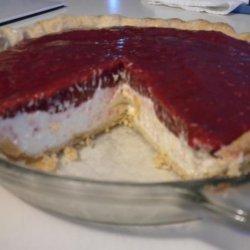 Raspberry Cream Cheese Pie recipe