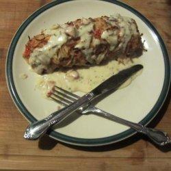 Potato Crusted Meal Loaf recipe