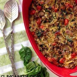 Spaghetti Squash Casserole recipe