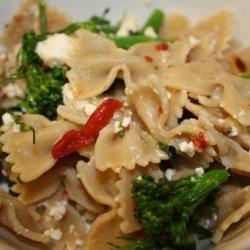 Pasta With Broccolini and Feta recipe