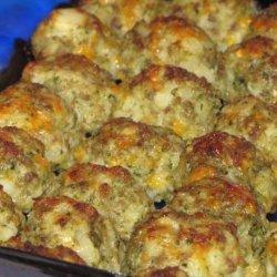 Potato Sausage Balls recipe