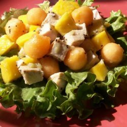 Mango, Melon and Chicken Salad (Low Sodium) recipe