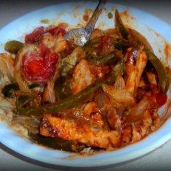 Chicken Avocado Stir Fry recipe