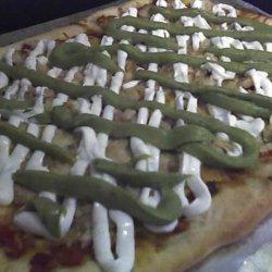 Fish Taco Pizza recipe