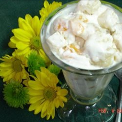 Easy Frozen Fruit Salad/Dessert recipe