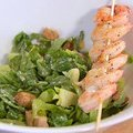 Caesar Salad with Grilled Shrimp (Ellie Krieger) recipe