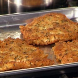 Chicken Cutlets with Herbs (Rachael Ray) recipe