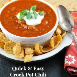 Easy Crock Pot Chili recipe