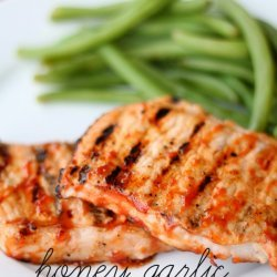 Honeyed Pork Chops recipe