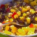 Corn and Black Bean Salad with Basil-Lime Vinaigrette (Giada De Laurentiis) recipe