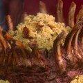 Cornbread Stuffed Crown Roast of Pork (Paula Deen) recipe
