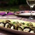 Eggplant Rolls with Ricotta, Walnuts and Mint (Aarti Sequeira) recipe