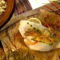 Fish en Papillote (Melissa  d'Arabian) recipe