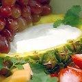 Fruit Tray with Fruit Dip (Paula Deen) recipe