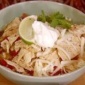 Gina's Hot and Spicy Tortilla Soup (Patrick and Gina Neely) recipe