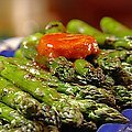 Grilled Asparagus with Barbecue Butter (Patrick and Gina Neely) recipe