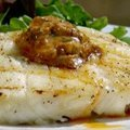 Grilled Halibut with BBQ Butter (Patrick and Gina Neely) recipe