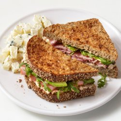 Ham and Goat Cheese Sandwiches (Food Network Kitchens) recipe