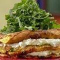 Layered Zucchini and Ricotta Omelet Cake (Rachael Ray) recipe