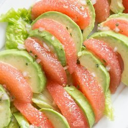 Avocado and Grapefruit Salad recipe