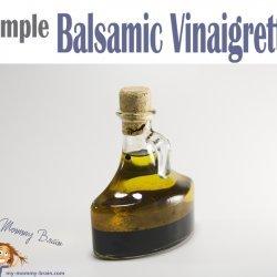 Simple Balsamic Vinaigrette recipe