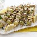 Spiced Chicken and Grape Skewers (Ellie Krieger) recipe