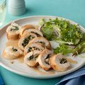 Spinach and Mushroom Stuffed Chicken Breasts (Rachael Ray) recipe