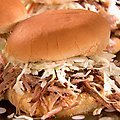 Tangy Pork Sandwiches with Spicy Slaw (Sandra Lee) recipe