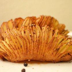 Fan Potatoes recipe