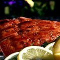 Triple Citrus Glazed Grilled Salmon (Patrick and Gina Neely) recipe