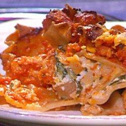 Turkey and Spinach Lasagna recipe
