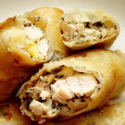 Chicken Pesto Chicken Lumpia recipe