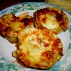 Mini Pizza Tarts recipe