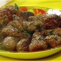 Greek Meatballs In Wine Sauce recipe
