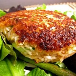Crab Cakes With Creamy Caper Sauce recipe