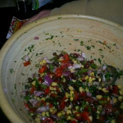 Black Bean Cilantro And Dill Salsa Guest Staring C... recipe