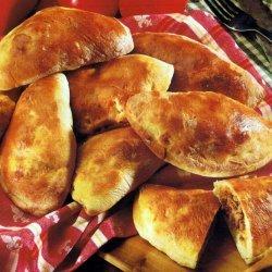 Mini Sausage Calzones recipe