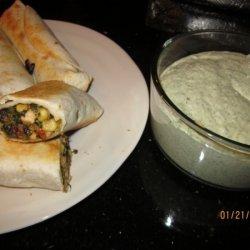 Mexican Egg Rolls recipe
