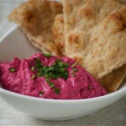 Roasted Beet Hummus recipe