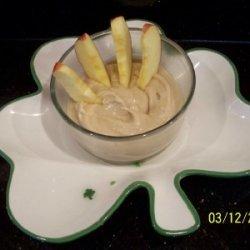 Caramel Cheesecake Fruit Dip recipe