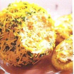 Cheddar And Salami Cheese Ball recipe