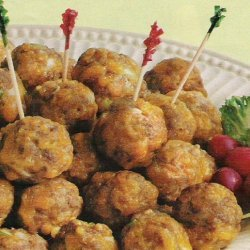Tinks -  Sausage - Cheese Balls recipe
