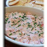 Smoked Salmon Appetizer Dip recipe