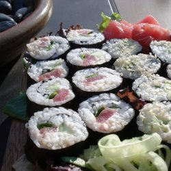 Sushi 101 Rolling recipe
