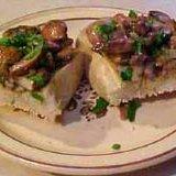Mushrooms Over Bread Appetizer recipe