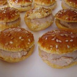 Baby Tuna Burgers recipe