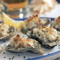 Oysters Chesapeake recipe