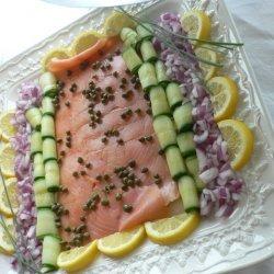 Smoked Salmon Platter recipe